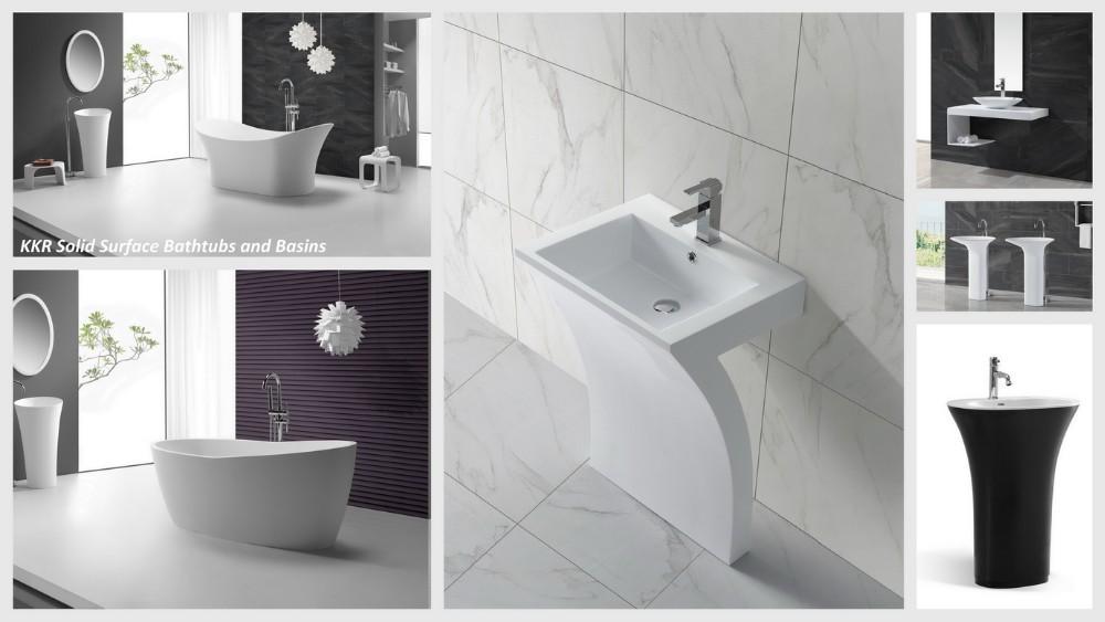Bathroom double wash basin wall mount shower basin view - Double wash basin bathroom ...