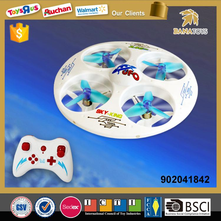 Free shipping Kid toy flying ufo drone with light