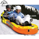New Inflatable snow towable Sled for double riders