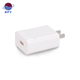 5V3A 9V2V 12V1.5A 18W White Color multiple plug phone charger station 1USB Port US EU UK Plug QC 3.0 Quick Travel Wall Charger