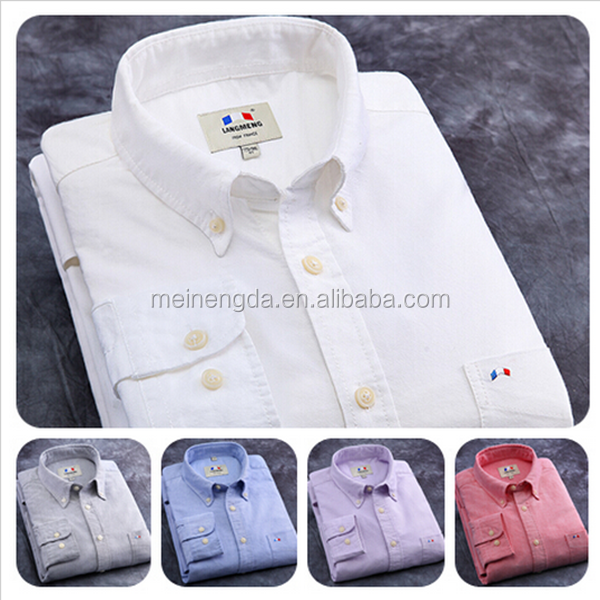 2015 alibaba hot sale top brand classic high qulaity 100% cotton solid color men's dress <strong>shirt</strong>