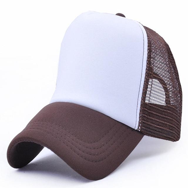 66d5fadf Flexfit plain men's Trucker Hat Mesh Adjustable Cap
