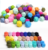 Wholesale loose beads baby teething quality silicone beads for sale