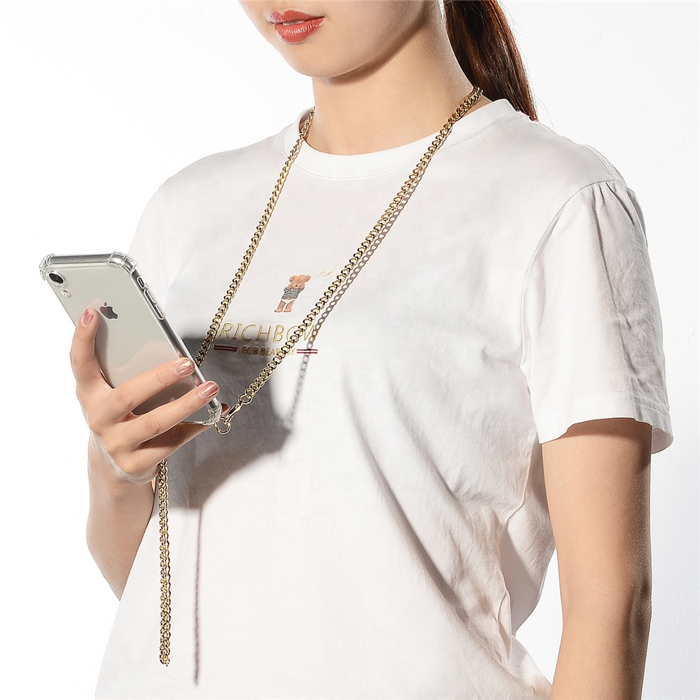 Handy Chain Phone Case with Necklace for iphone x xr xsmax фото