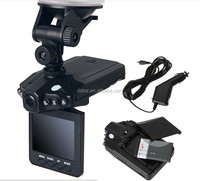 Night vision 6 led car video registration with best price F198 DVR dash cam