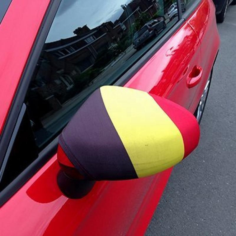 New products cheap printing World cup car mirror cover