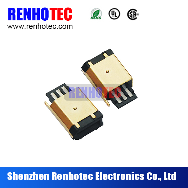 Alibaba hot sale 6P male short solder ieee 1394 to usb