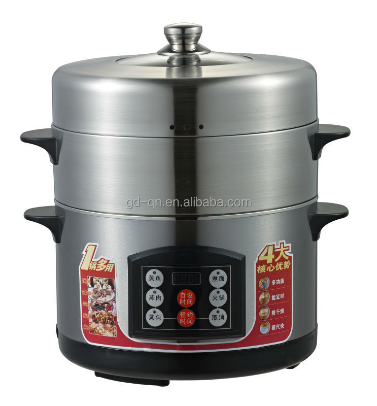 New arrival Stainless Steel Steam Cooker / Food Steamer 3L/4L