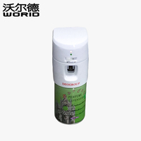 X-1106 ABS plastic LED Automatic perfume aerosol dispenser Air freshener hotel home toliet office wall mounted spray