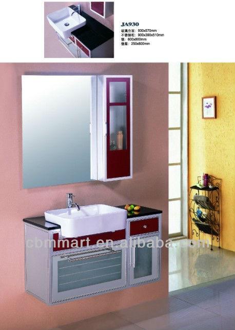 Simple ba o vanidades barato ba o armarios mueble de ba o for Armario bano barato