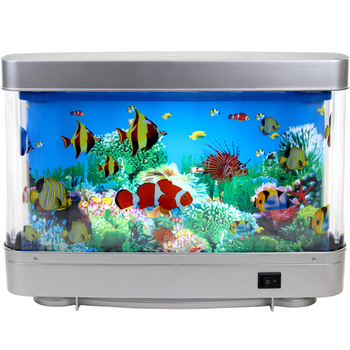 Led Nachtlampje Led Decoratieve Licht Nep Vis Aquarium Met