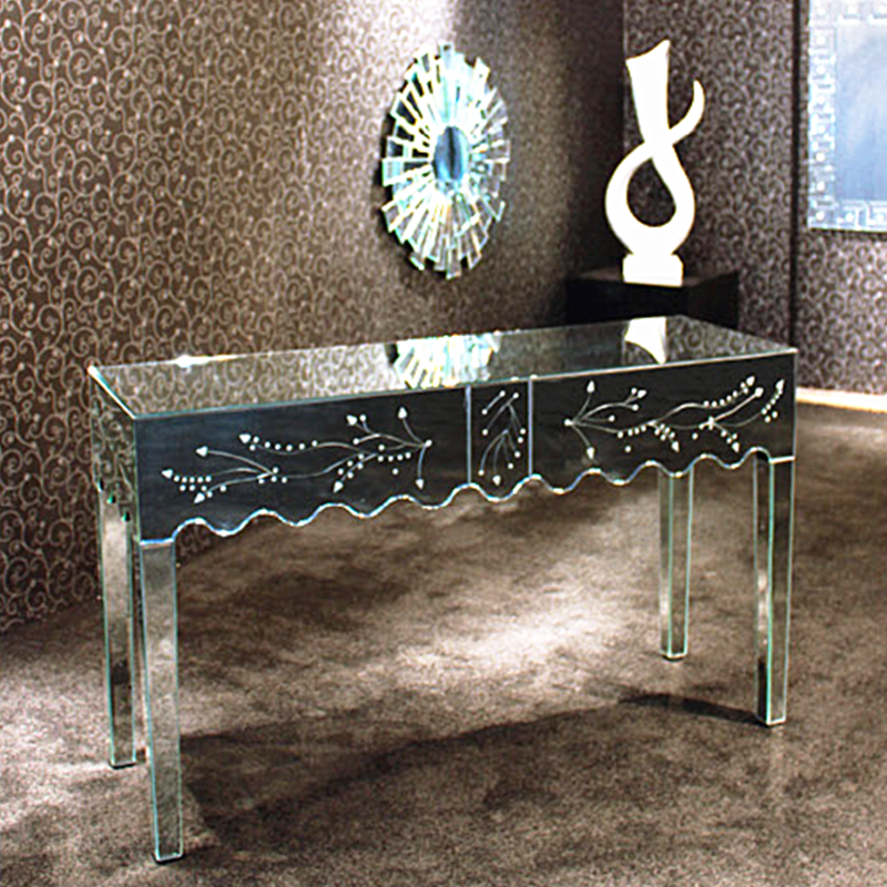 Mirrored furniture vanity Mirrored Makeup Discount Venetian Mirrored Furniture Vanity Table With Drawers Bedside Cabinets Alibaba Wholesale Discount Venetian Mirrored Furniture Vanity Table With Drawers