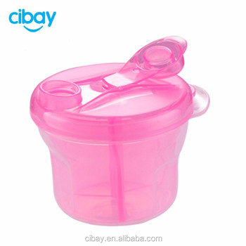 Hot Sale Food Grade Plastic Baby Milk Powder Container& Snack storage container