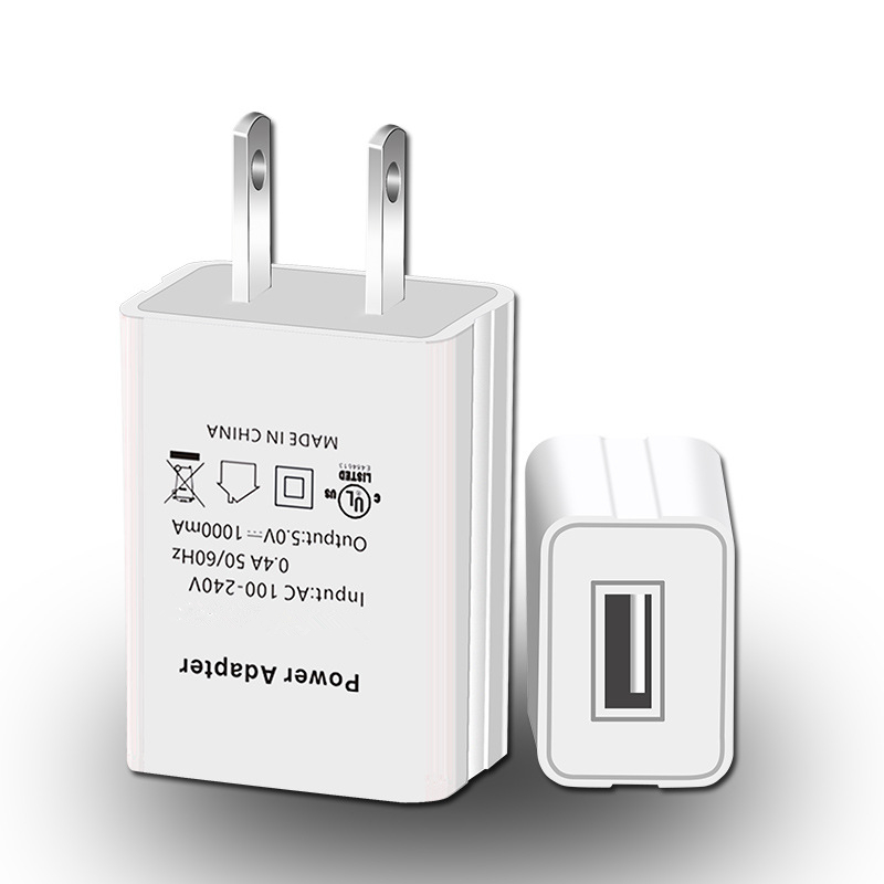Wholesale Fast Charging Single One Port US Plug u l Certify list certificate Listed Battery Usb Wall Travel Charger фото