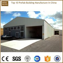 knock down trading export pre fab light structure roof design