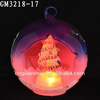 Sweet Family LED Xmas Glass Ball with Xmas Tree Inside
