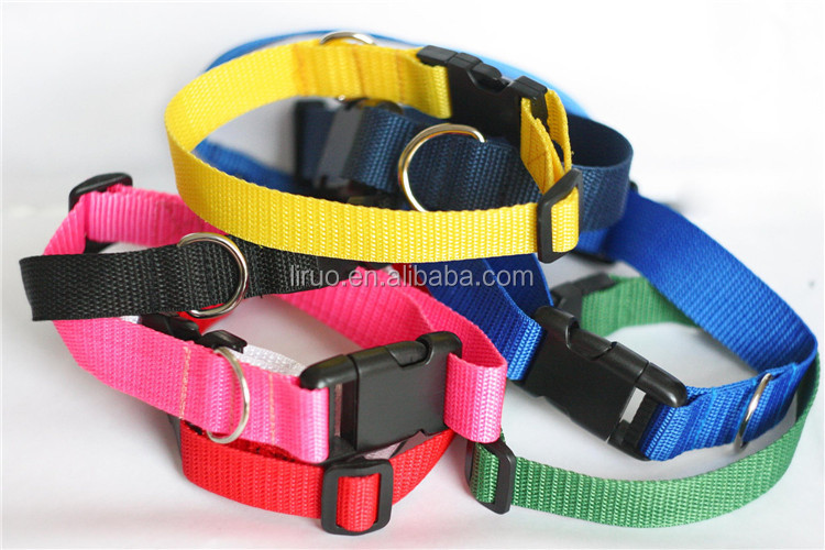 Solid Color Light Waterproof Safety Necklace Dog Chain Collar