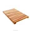 FB7-4001 square Non-slip Bamboo Bathroom accessories bath Floor Mat