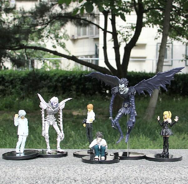 6pcs/set Free Shipping Light Yagami Death Note L Killer