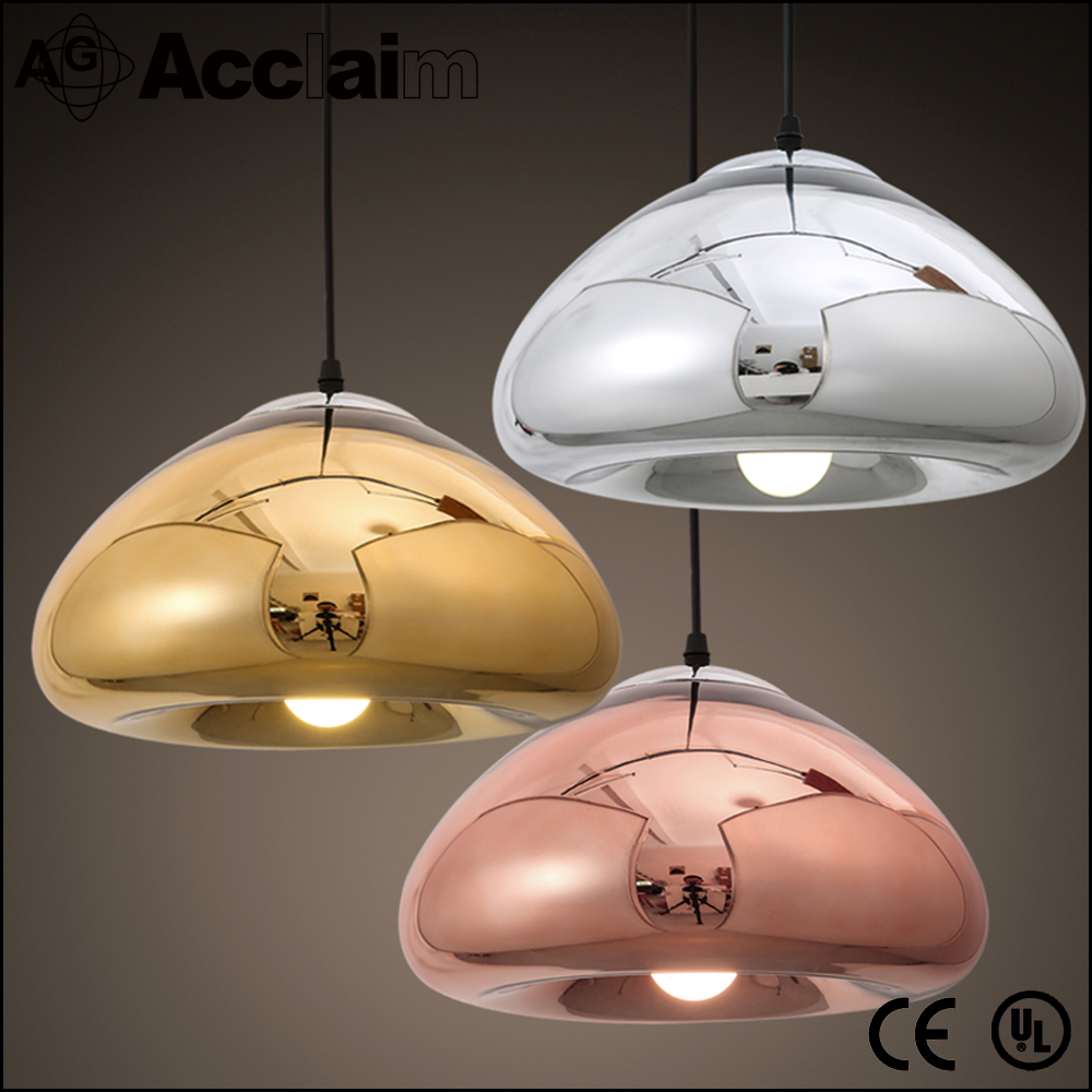 wholesale retro glass lamp shade pendant light for lobby