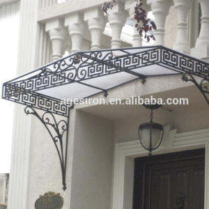 hand made Wrought iron awning