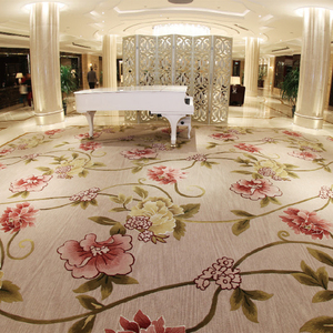 100% nylon material chinese style printed 3d carpet for hotel