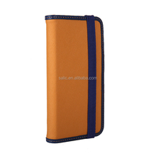 2016 New 2 in 1 genuine leather wallet flip case for iphone 7
