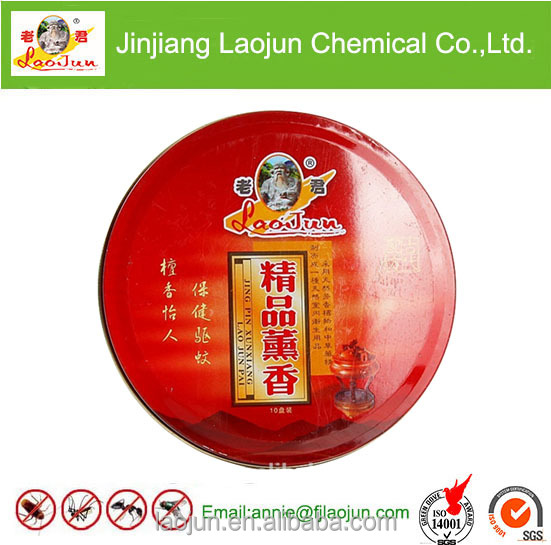 supply high quaility national herb incense coil in China