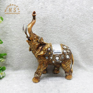 gold elephant for sale polyresin material elefantes for home decor
