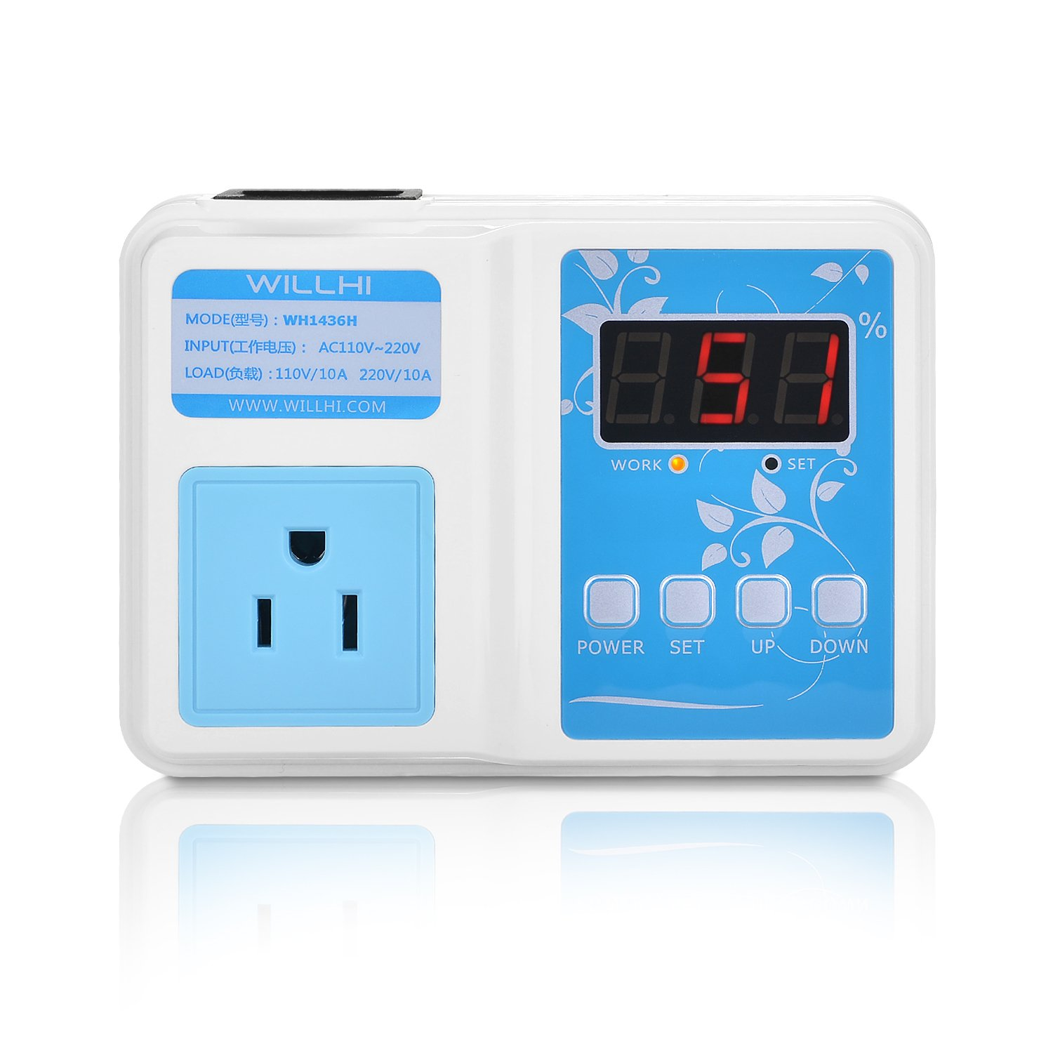 Buy Autonics Pa10 U Controller Sensor Power Amplifier Multi Timer Willhi Wh1436h 110v Digital Air Humidity With Lcd Display High Accuracy 118 Cable Humidification Mode
