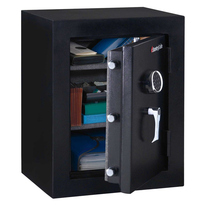 "Sentrysafe Executive Fire-Safe Ef3428e - Electronic Lock, 21-11/16""W X 19""D X 27-3/4""H, Black"