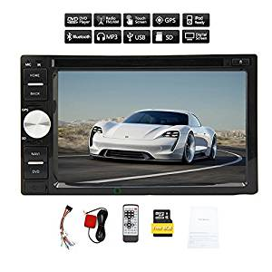 Audio PC Radio Receiver Autoradio Electronics RDS BT Audio Car Stereo Double Din Car Video Player In Dash Auto DVD CD VCD Sub AMP iPod RDS win 8
