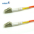 Multimode MM LC/UPC to LC/UPC Duplex Fiber Optic Jumper Cord OM1 62.5/125