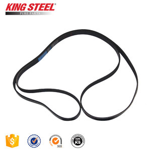 King Steel Japan Car Fan Belt , Auto Timing Belt , Rubber V Belt For Toyota Innova Hiace Mitsubishi Suzuki Mazda Hyundai