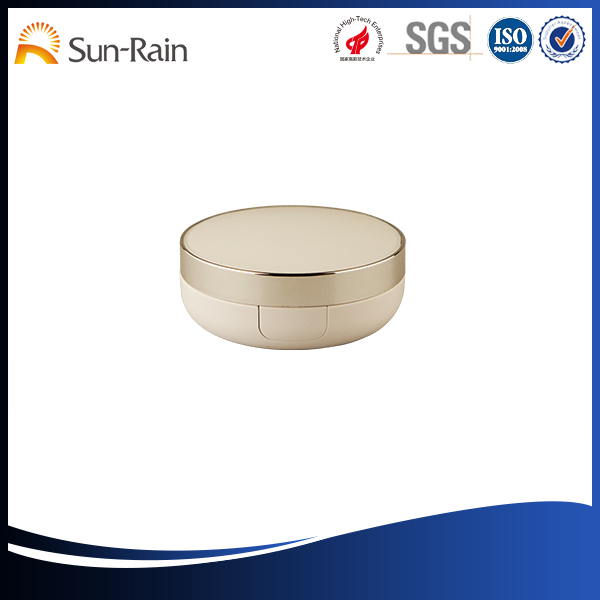 Wholesale low price high quality air cushion case cosmetic packaging pressed powder