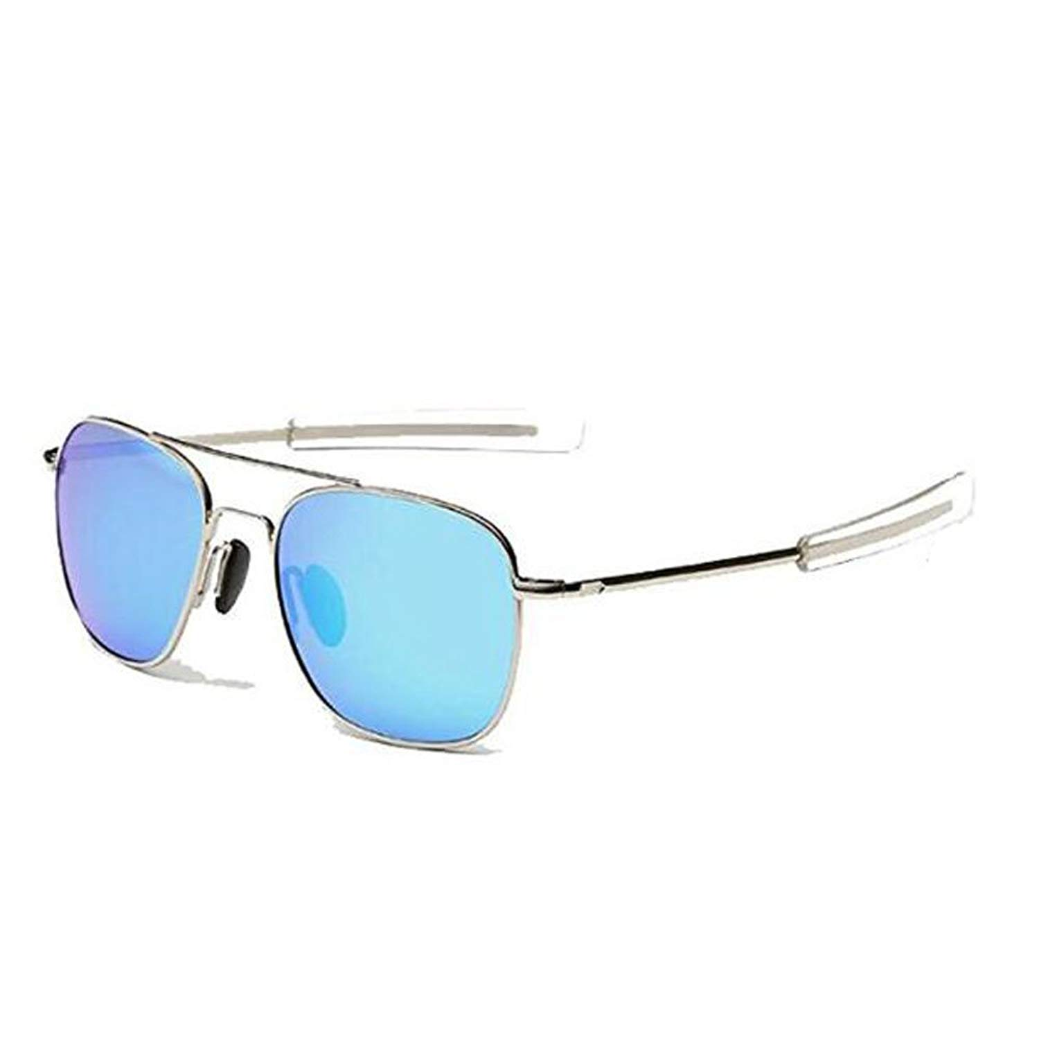 839707ea1aa4 Get Quotations · US Army Aviator Sunglasses Polarized Military Pilot  Bayonet Temple Classic Retro