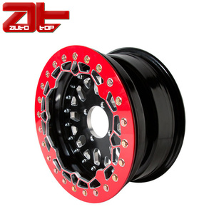 14 Inch ATV Beadlock Alloy Wheel, Hot Sale Black UTV Quad Wheels Rims 4/115