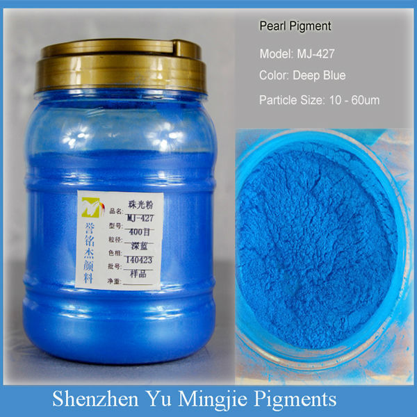 Deep Blue Pearl Luster Pigment,427 Deep Blue Pearlescent Pigment Powder