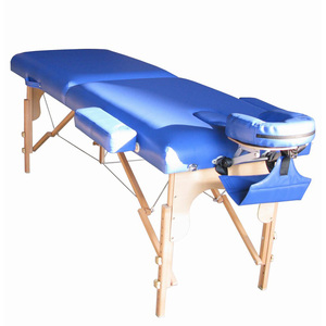 Portable folding massage table massage headrest for bed