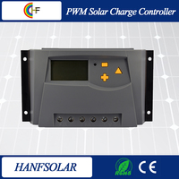 PWM 40A solar charge controller 5V USB Charger 12V 24V Solar Panel Battery LCD Charger