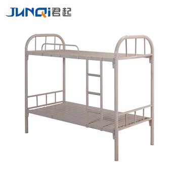Low Mini Dormitory Bunk Bed Antique Iron Metal Bedroom Furniture