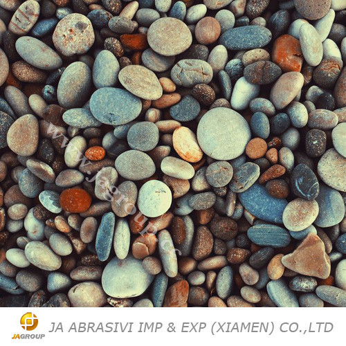 Natural Outdoor Flooring Pebble Stone JAG