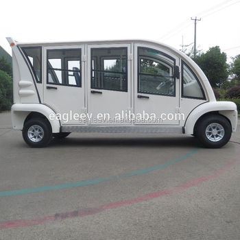 Airport Electric Car Eg6063kbf 6 Seats Closed Doors Ce People Mover