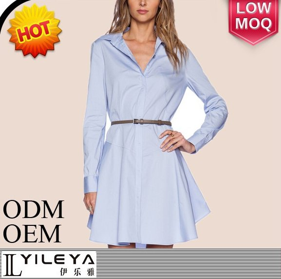 korean fashion clothing casual blue women summer dress 2015 for office