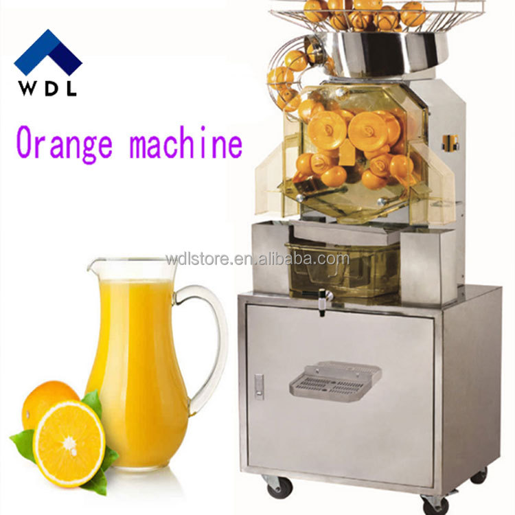 Commerciële sap maken machine, Verse oranje sap machine