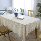 Wholesale Hand Vintage Flower Crochet Poetical Tablecloth