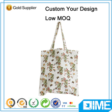 Custom Printed Small Canvas Felt Shopping Bag
