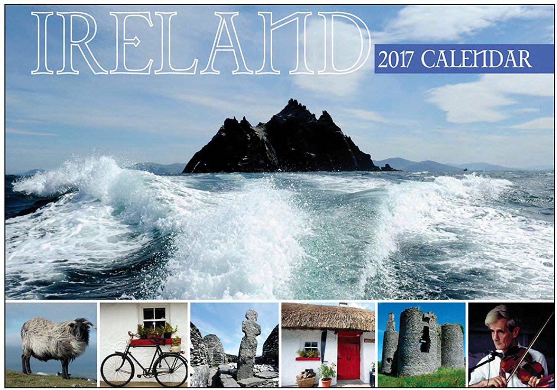 Ireland wall Calendar 2017 - Made in Ireland