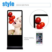 Free stand DIY Split screen to different zooms new technology of advertising sign display