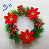 2016 Natural Color PVC Wedding Garland Wreath/Outdoor Wreath For Christmas Decoration